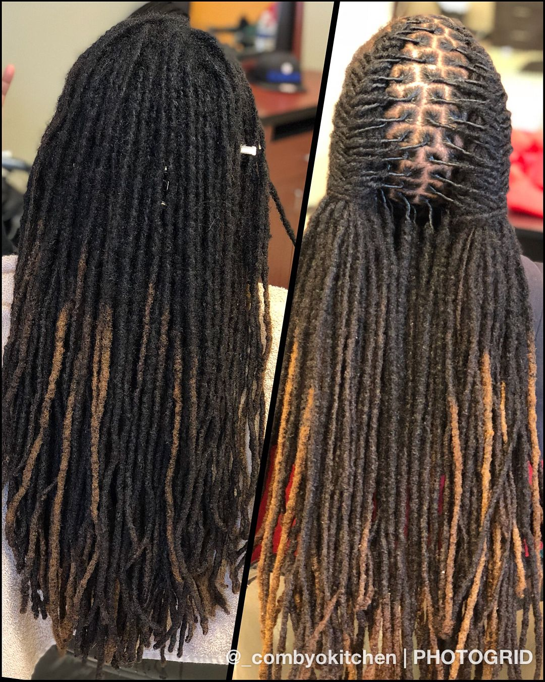Beauty Grooming Journalist Of The Year: Show Me My Opponent 👀🔥 Been Grooming These Locs 8.5 Years