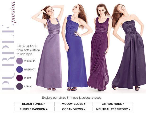 Lots Of Purples - David's Bridal