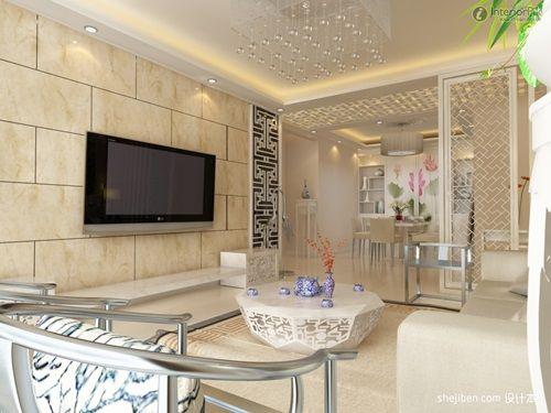 Creative Ideas For A Windowless Living Room Decoration Tiles