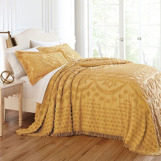 Georgia Chenille Bedspread Collection| Bedding Collections | Brylane Home