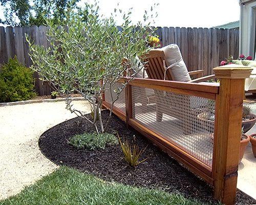 Elegant Decorative Garden Fence Ideas
