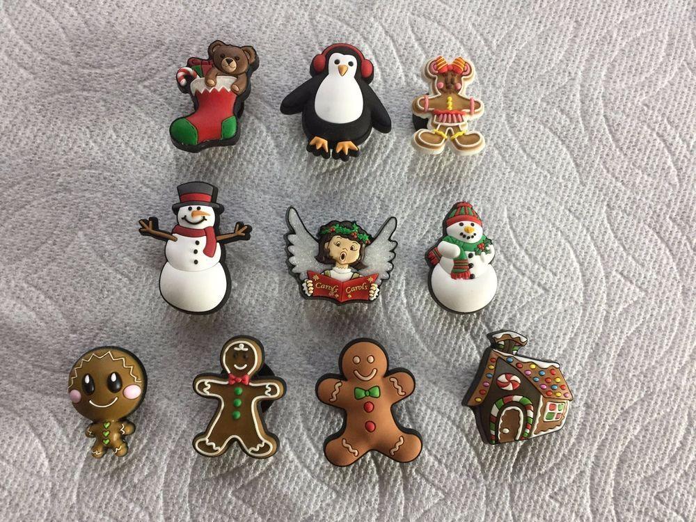 CHRISTMAS JIBBITZ CHRISTMAS SHOE CHARMS