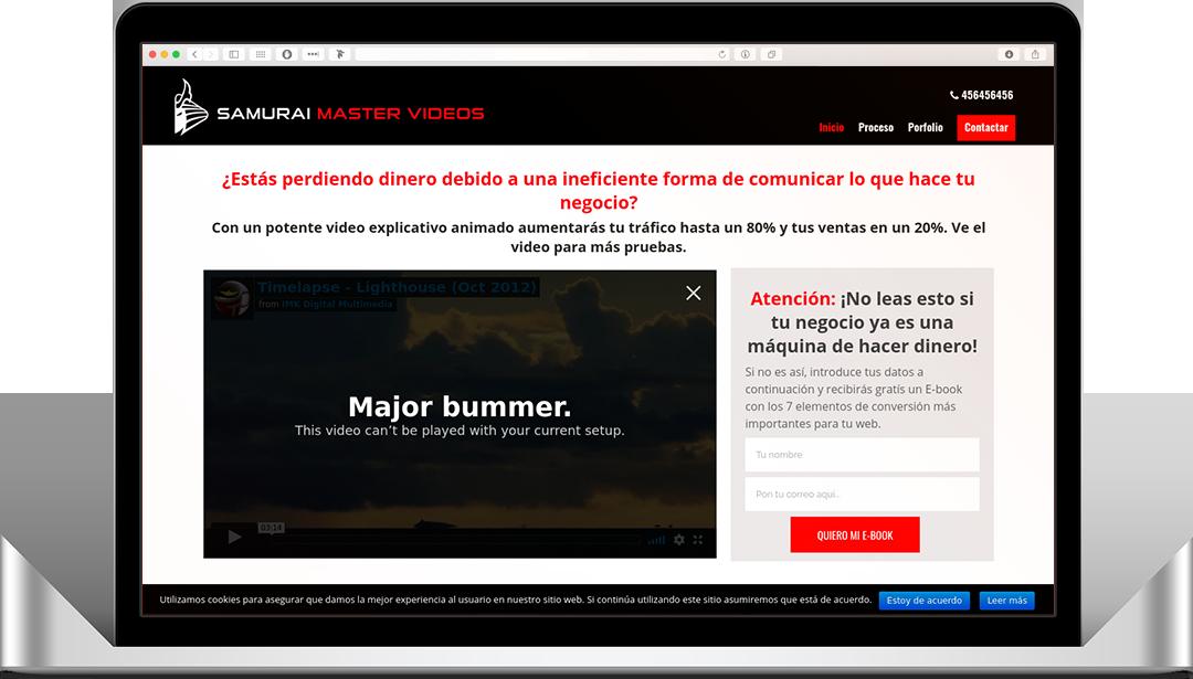 Samurai Master Videos