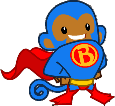 Super Monkey   BTD battles   Battle towers, Balloon tower