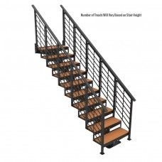 Best Straight Stairs And Modular Staircase Kits Stairs 400 x 300