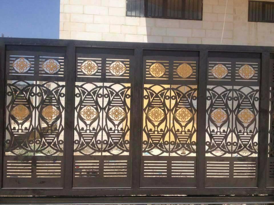 Door تنفيذ ابواب الحديد عادي زخرفه و ليزر الرياض 0530608113 Decor Home Decor Room Divider