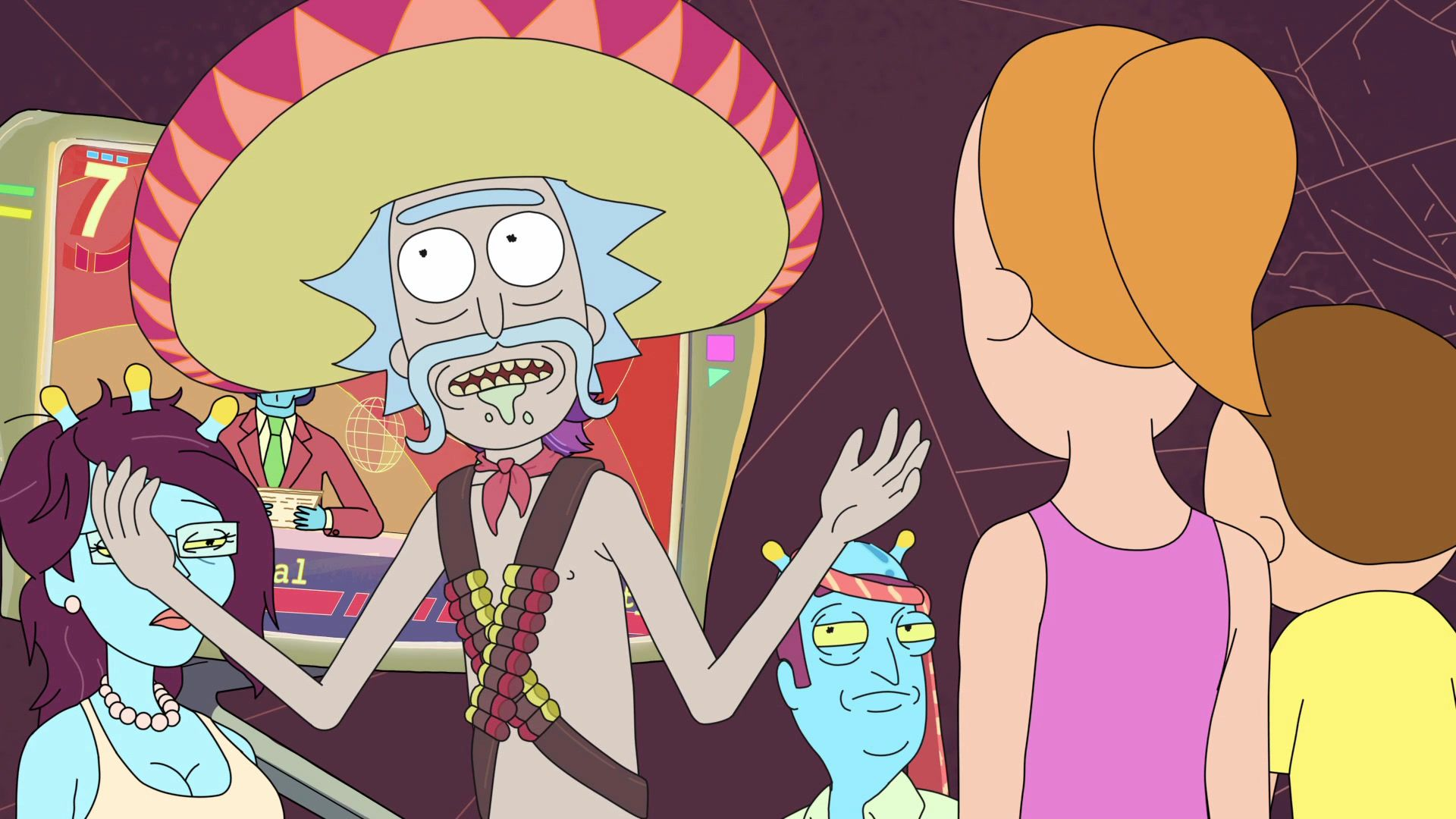 Mexican Rick In 2021 Rick And Morty Poster Rick And Morty Rick