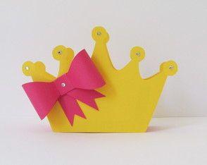 Enfeite de mesa Coroa
