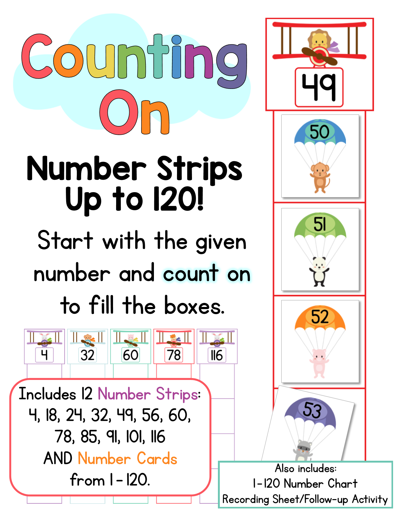 Counting On Counting On Numbers 1