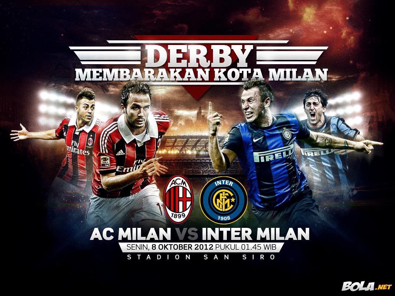 Download Wallpaper Ac Milan Vs Inter Milan Bola Net Inter Milan Ac Milan Milan