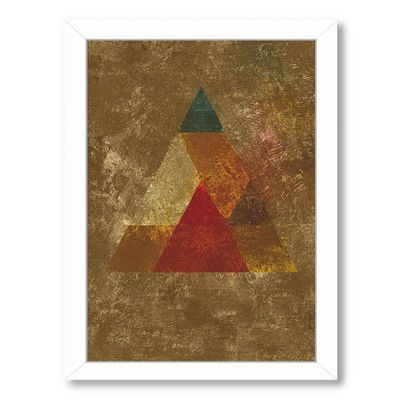 East Urban Home 'Try 5' by Spires Framed Graphic Art