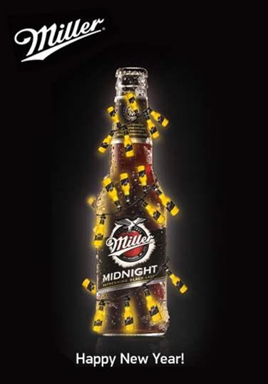 10 Cool New Year S Eve Designs Christmas Beer Beer Prints Miller Beer