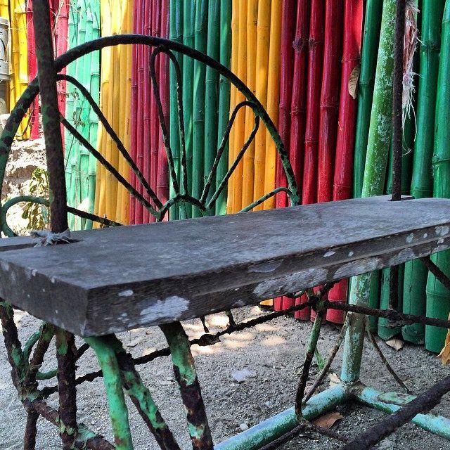 This is a swing :) #upsticksandgo #swing #lombok #indonesia #colourful #travelgram #travellingtheworld #playequipment | Flickr - Photo Sharing!