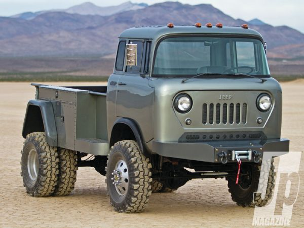 Jeep dually truck