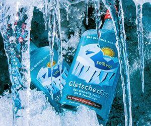 Lally Pop Gletscher Eis Likor Feuer Eis Aus Tirol Eis
