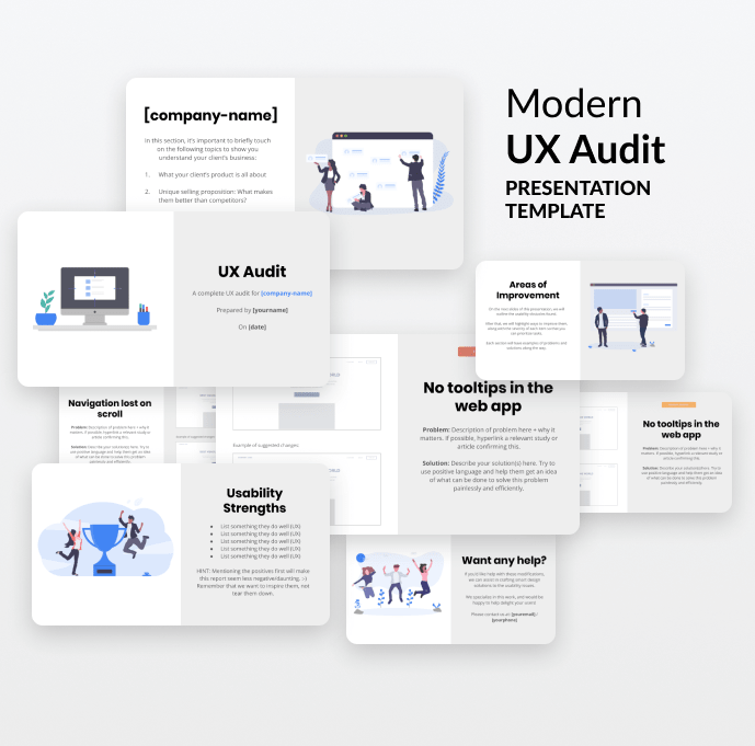 Ux Report Template 5 Templates Example Templates Example Report Template Presentation Templates Templates