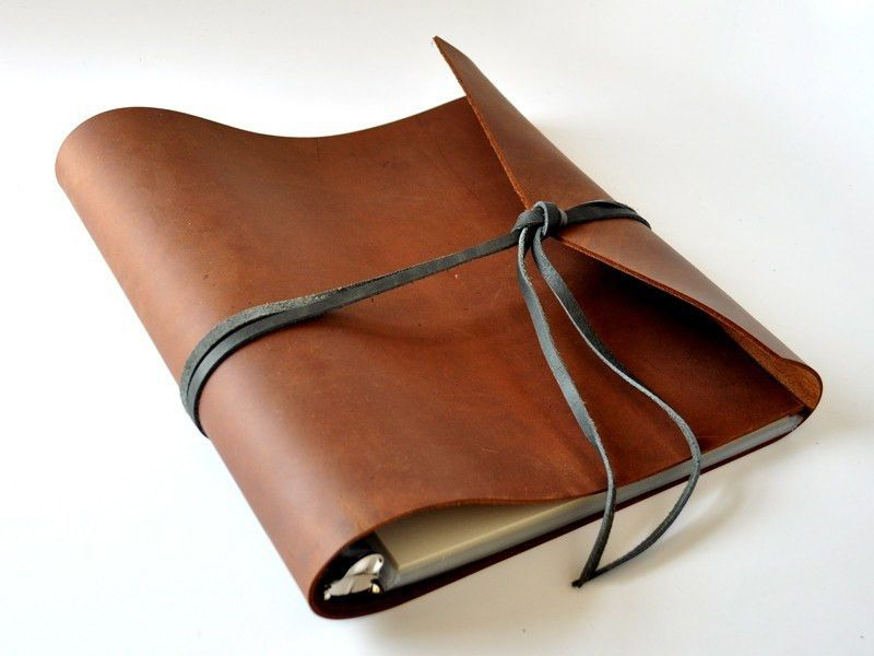 Woodsman soft leather 3 ring binder leather binder binder and leather binder details our original woodsman 3 ring binder is handcrafted of thick oiled cowhide that solutioingenieria Choice Image