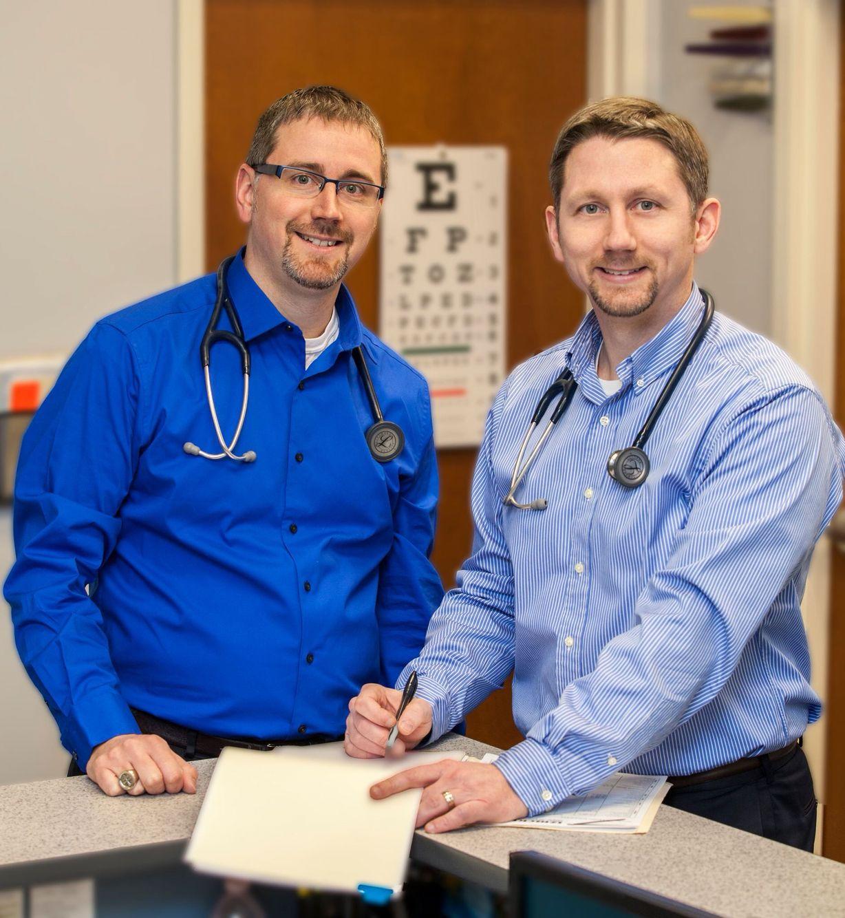 Drs. Jon & Harry Izbicki of Izbicki Family Medicine, Erie