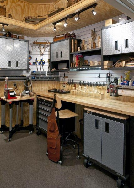 Photo of Top 60 Best Garage Workshop Ideas – Manly Working Spaces