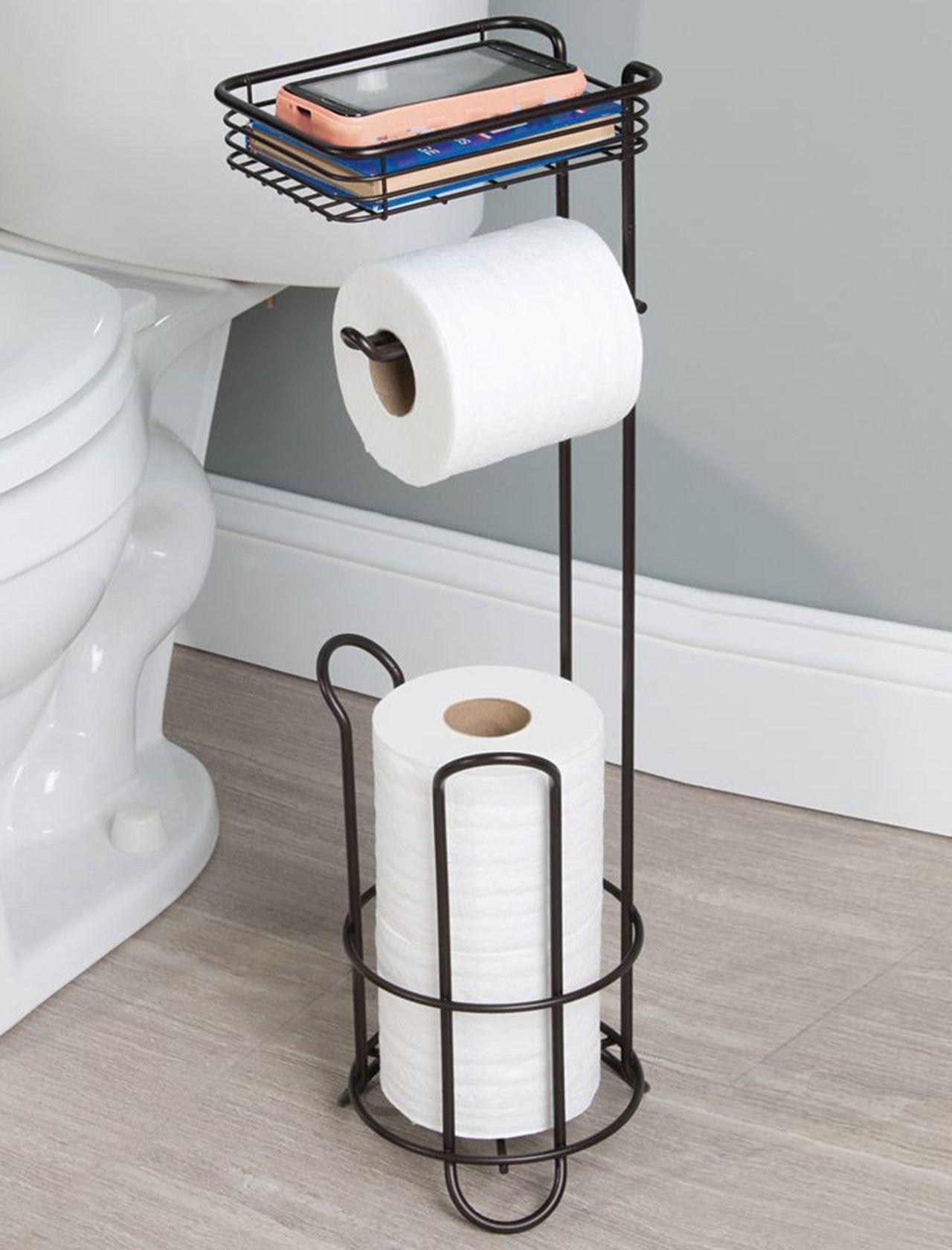 10 Creative And Easy Diy Toilet Paper Holders Bathroom Toilet