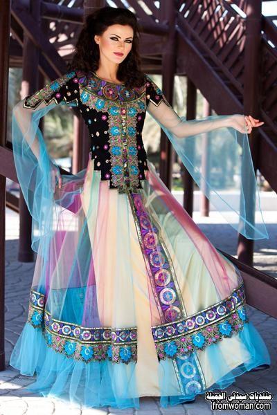 عبايات ملونه 2016 اشيك عبايات باستايلات هنديه عبايات الوان 2016 Formal Dresses Long Victorian Dress Fashion