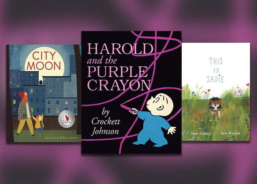 Books for fans of harold and the purple crayon brightly