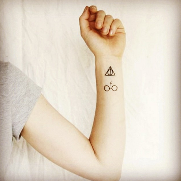 21 spellbinding harry potter tattoos every fan will adore | tatoo