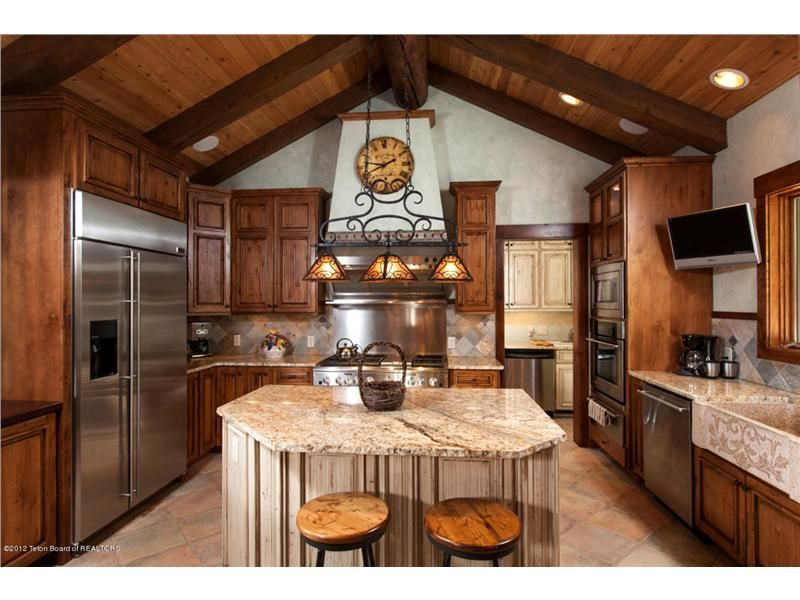 Ranch+Style+Home+Kitchens   ... Spring Creek Ranch ...