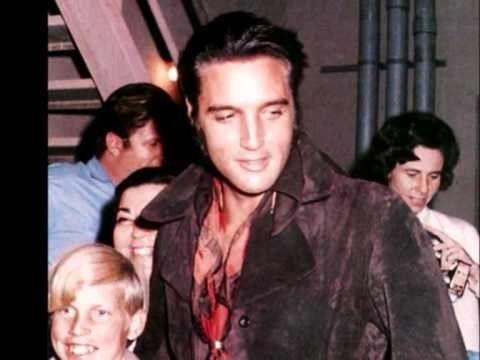 Elvis candid