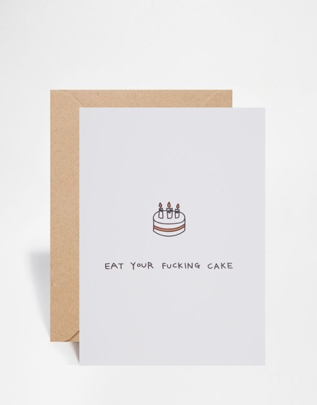 Rude Greeting Cards Featuring Minimal & Quirky Illustrations