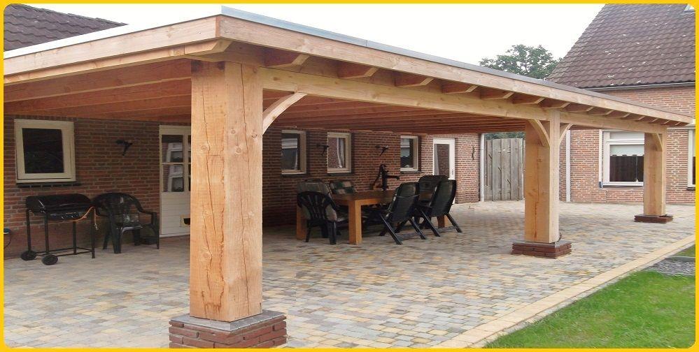 Beroemd 7- Houten veranda aan huis met plat dak en lichtkoepel lichtstraat &OW49