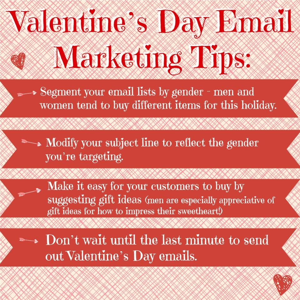 Valentine's Day Email Marketing Tips | Valentine's Day ...