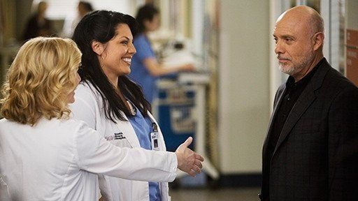 """""""and i really hope you draw the line at throwing women against walls."""" Arizona talking to Calliope's dad. 5X20"""