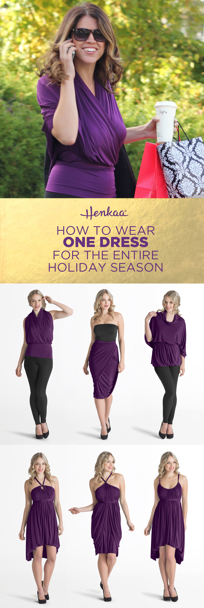 how to wear convertible dress