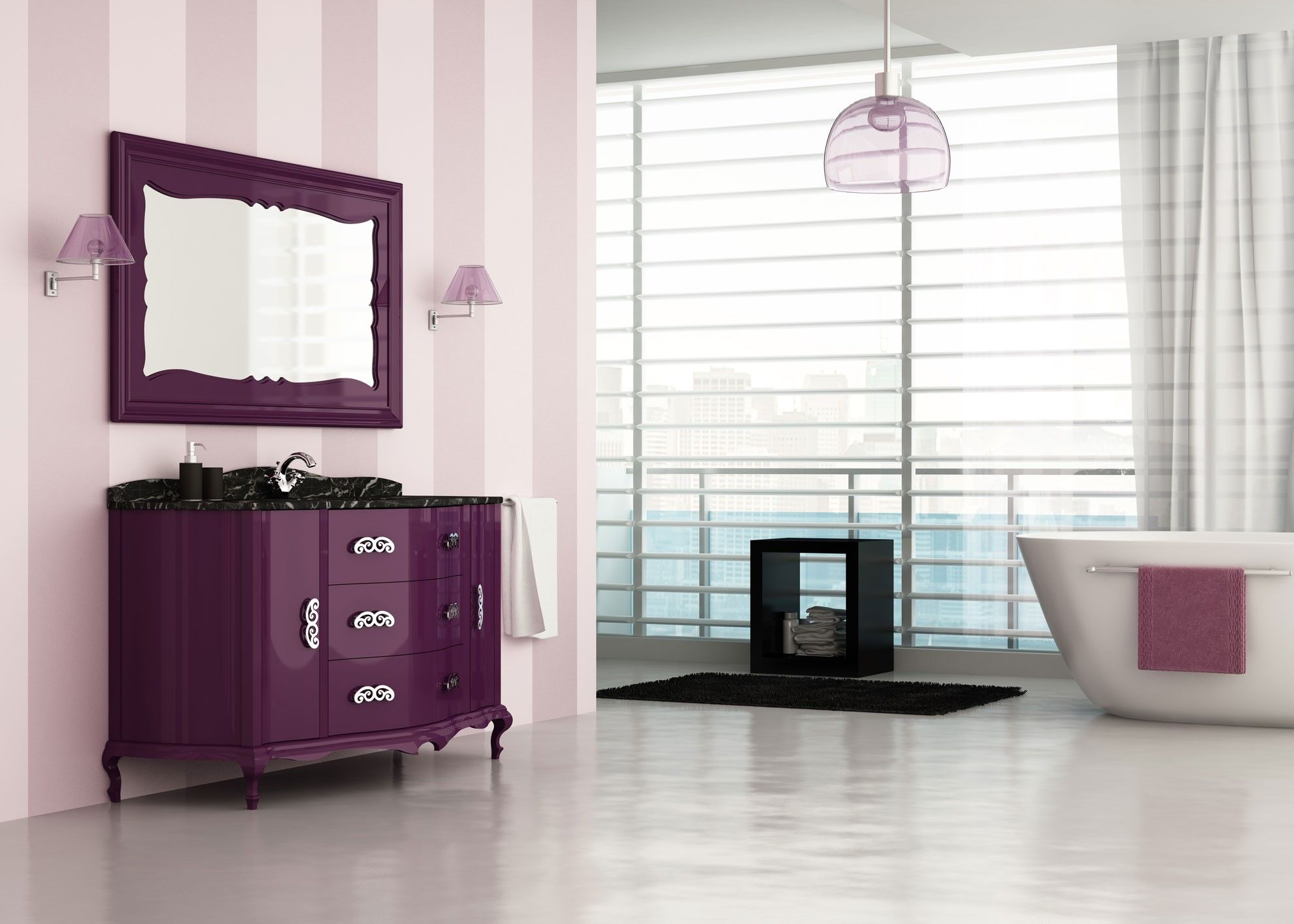 Mueble de ba o de lujo 150 cm roma muebles de lujo Muebles de bano 150 cm