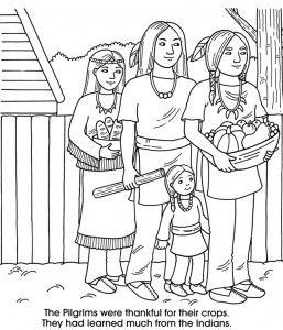 Dover Printable Thanksgiving Coloring Pages