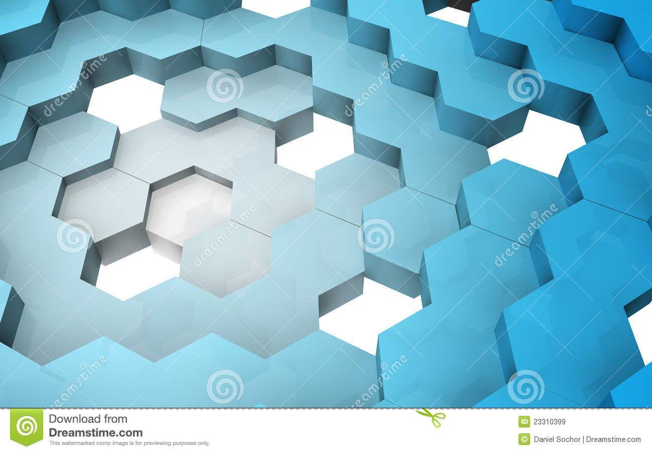 3d hexagon pattern stock vector image 54997696 - 3d Hexagon Logo 3d Render Of Hexagon Structure