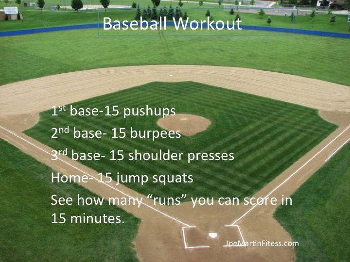 Pin By Vicki Trombly Young On Crossfit Baseball Workouts Fun Workouts Softball Workouts