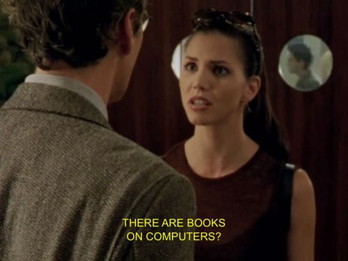 She's not into eBooks and would rather have the real thing. | 28 Reasons Cordelia Chase Should Be Your New Role Model
