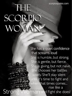 The Scorpio Woman Traits | Scorpio | Scorpio woman, Zodiac signs
