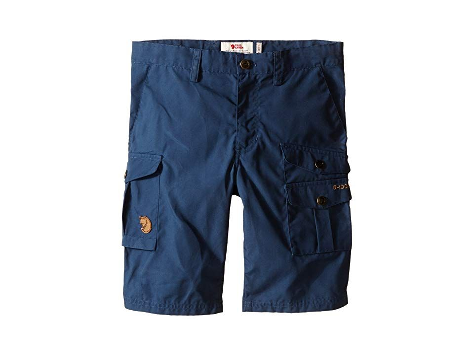 Fjallraven Kids Kids Vidda Shorts Uncle BlueBlack Kids Shorts Hardwearing gear is crucial to your success on the trail and the combination of G1000 performance fabric and...