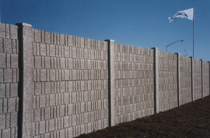 Brick Fence Poisk V Google Concrete Fence Concrete Fence