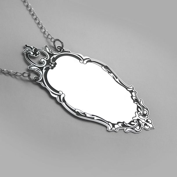 Mirror Mirror Necklace