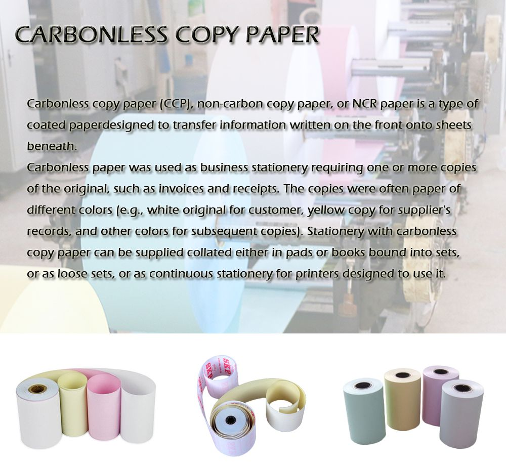 Carbonless Copy Paper In 2020 Copy Paper Business Stationery Papers Co