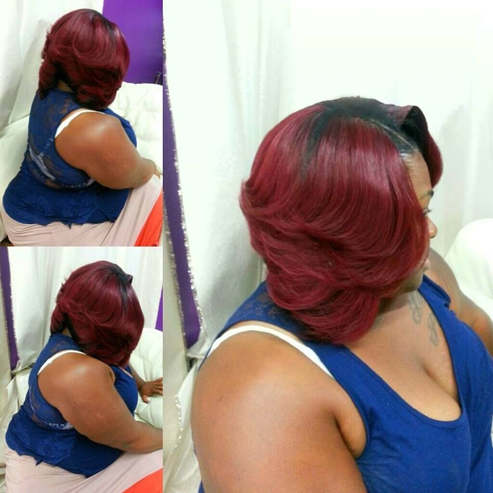 Terrific Beautiful Bobs And Burgundy On Pinterest Hairstyles For Women Draintrainus
