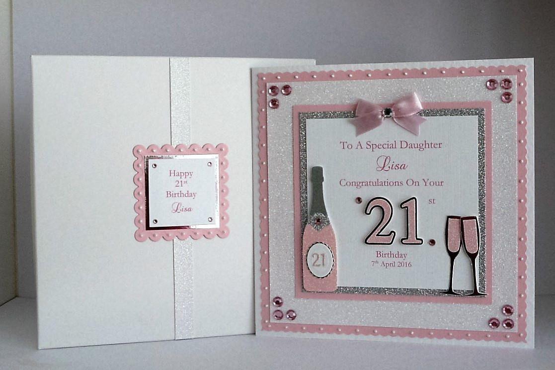 18th 21st Birthday Card Daughter Son Granddaughter Grandson Etsy 21st Birthday Cards Birthday Cards Personalized Birthday Cards