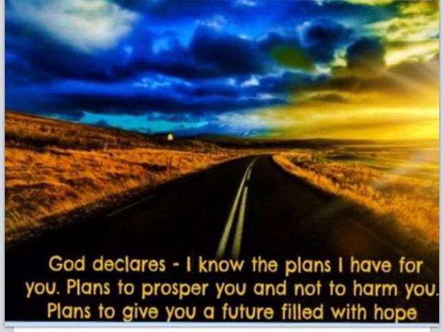 God has a plan for us