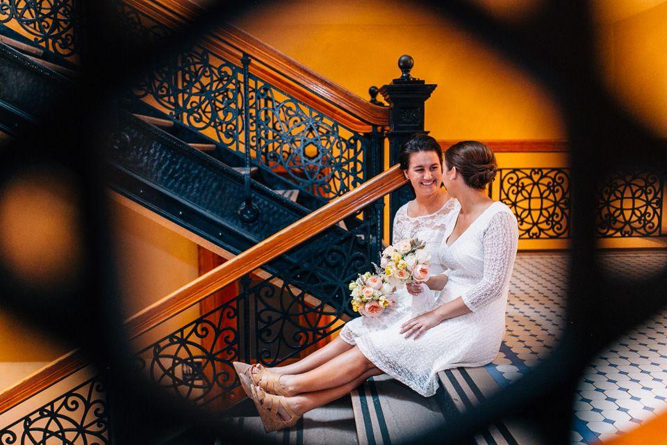 Old Orange County Courthouse Elopement - Amanda + Atalia ...