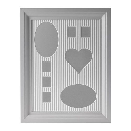 This IKEA ÖSTERSLÖV Collage frame for 8 photos has a PH-neutral mat ...