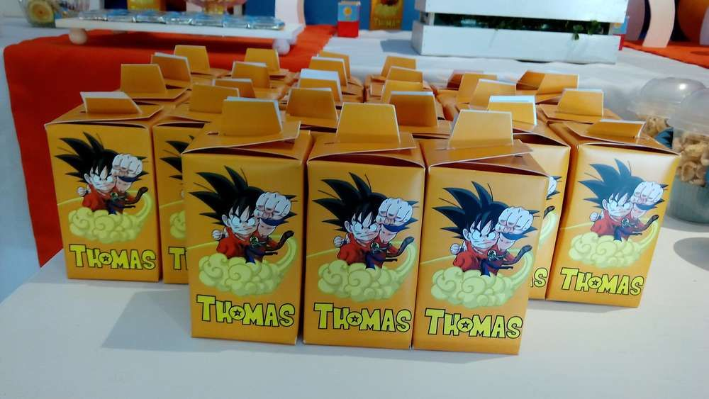 Thomas Dragon Ball Z Party